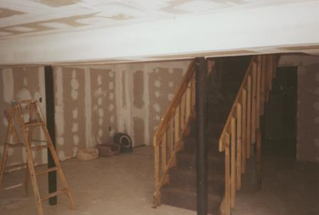 Picture Of Unfinished Basement